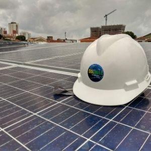 Diminuição de emissão de CO2 com energia Solar