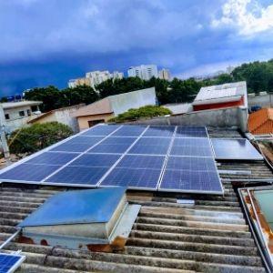 Vendas de sistemas de energia solar